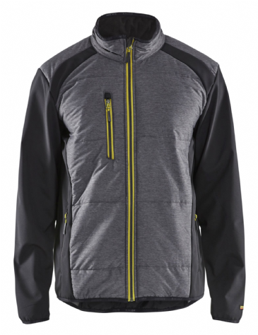 Blaklader 4929 Hybrid Jacket (Black/ Vis Yellow)